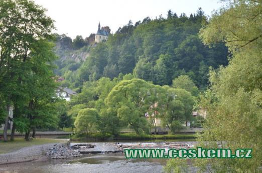 Řeka Jizera.