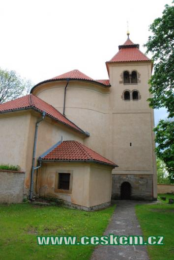 Rotunda sv. Petra a Pavla.