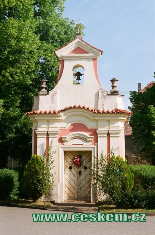 Kaplička ze druhé poloviny 18. století.