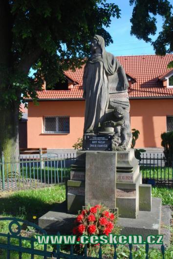 Památník padlých z 1. světové války.
