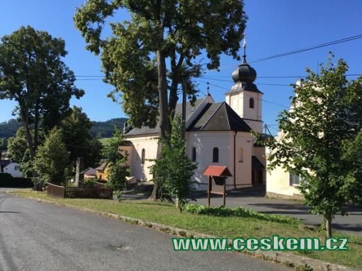 Kostel Navštívení Panny Marie.
