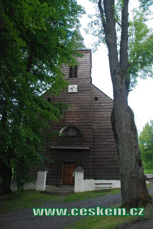 Kostel Neposkvrněného početí Panny Marie v Hojsově Stráži.