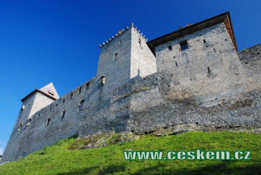 Hrad založen roku 1356 Karlem IV.