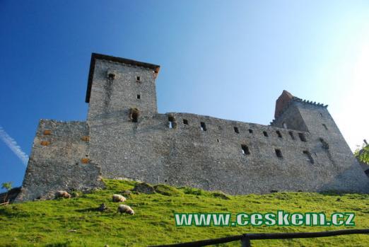 Hrad založený Karlem IV.