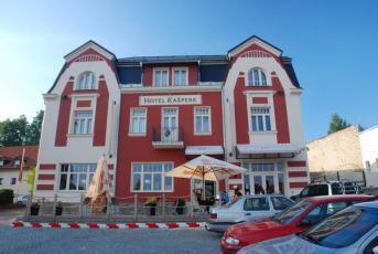 Kašperské Hory na Klatovsku - Hotel Kašperk.