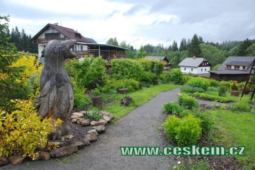 Prášilská botanická zahrada...