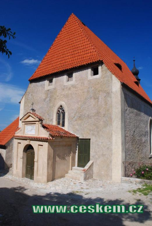 Kostel Nejsvětější Trojice v Rabí.