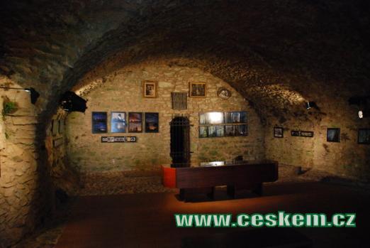 Výstava na hradu Rabí.