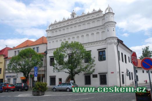 Voprchův dům - budova muzea.