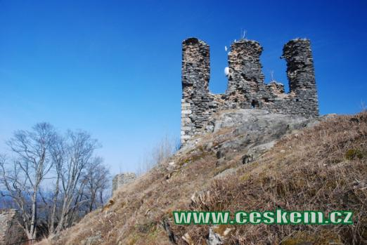 Dominanta západního okolí Karlových Varů.