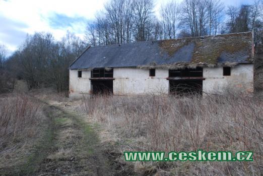 Bývalá stodola...