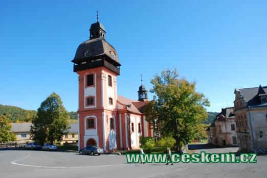 Kostel Narození sv. Jana Křtitele.