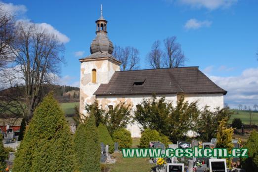 Kostel sv. Mikuláše na zdejším hřbitově.