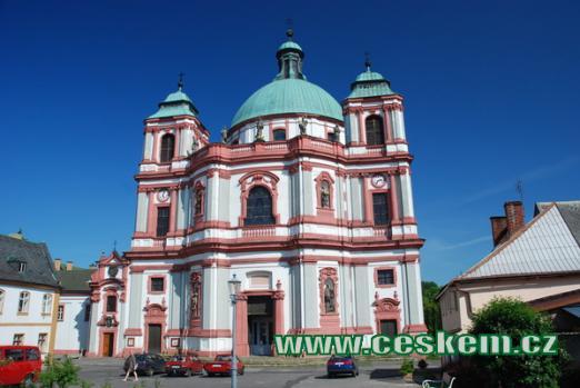 Bazilika Minor svatého Vavřince a svaté Zdislavy.