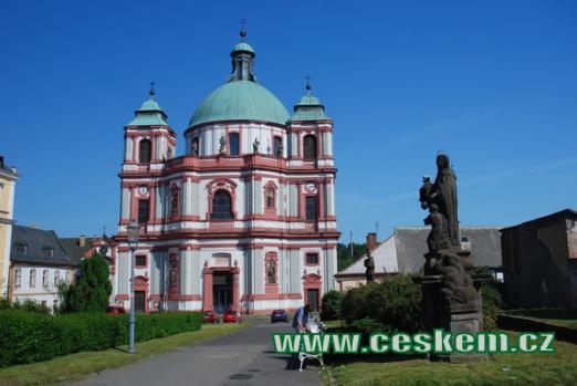 Bazilika Minor sv. Vavřince a sv. Zdislavy.