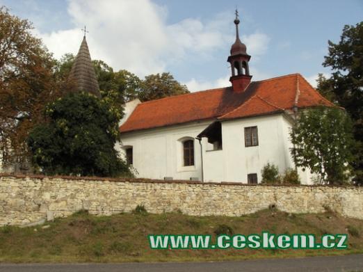 Barokní kostel sv. Martina.