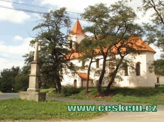 Místní kostel.