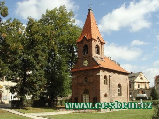 Zdejší kaple Nanebevzetí Pany Marie.