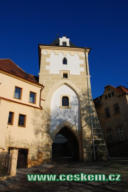 Kněžská brána.