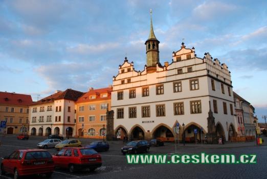 Bývalá radnice, v současnosti městské muzeum.