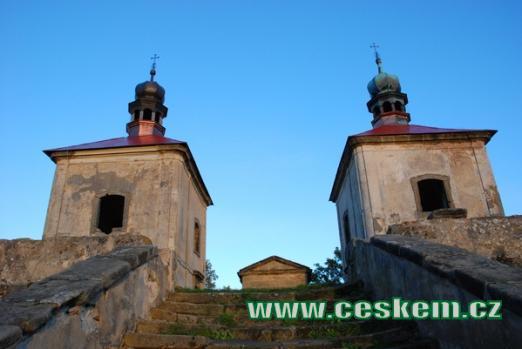 Zdejší kaple Nalezení a Povýšení svatého Kříže.