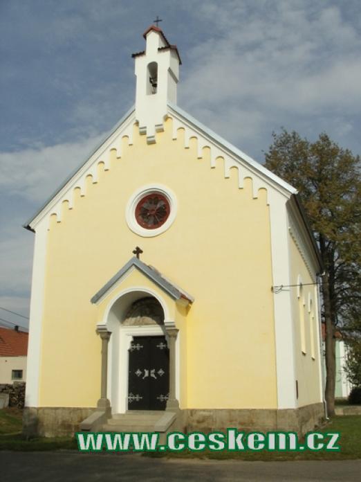 Kaple sv. Anežky Přemyslovny.