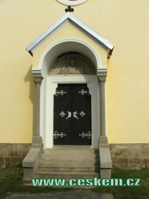 Vchod do kaple sv. Anežky Přemyslovny...