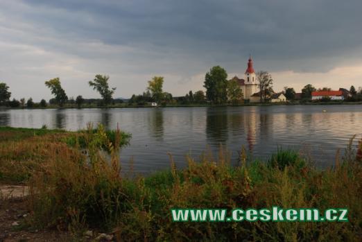 Zdejší kostel sv. Vojtěcha.
