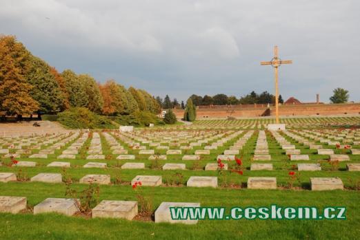 Národní hřbitov v Terezíně.
