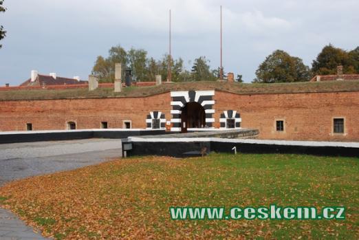Terezínská Malá pevnost.