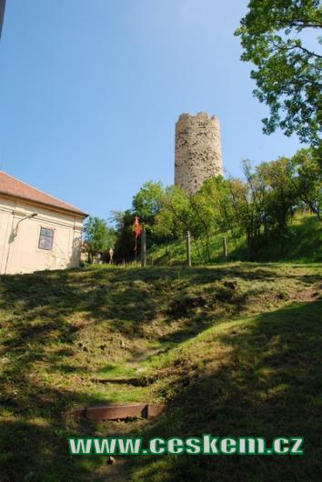 Cestou na hrad Skalka.