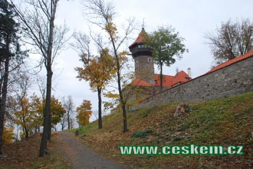 Procházka kolem hradu.