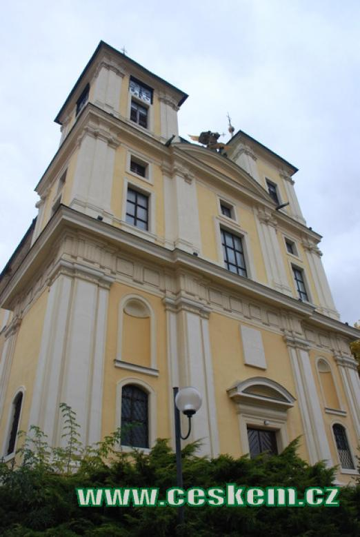 kostel sv. Archanděla Michaela.