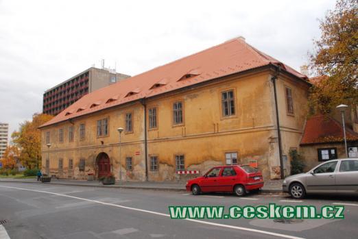 Pohled na zámek v Litvínově.