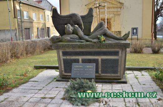 Památník obětí koncentračních táborů.