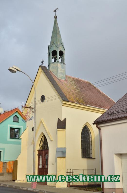 Kaplička v Horním Lomu.
