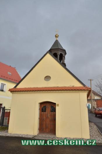 Kaplička z roku 1799.