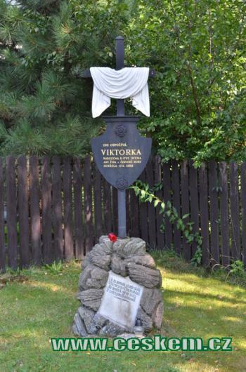 Viktorčin pomník.