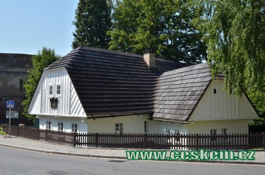 Jiráskův rodný dům.