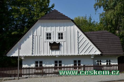 Rodný dům A. Jiráska.
