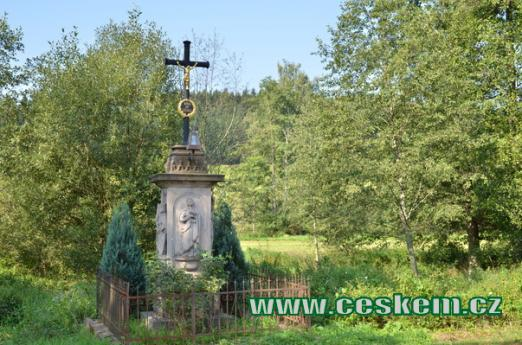 Křížek v Hynčicích.
