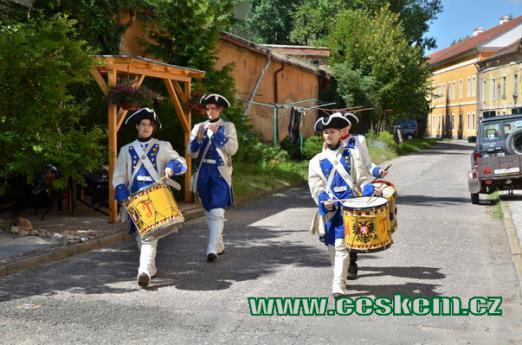Císařští bubeníci.