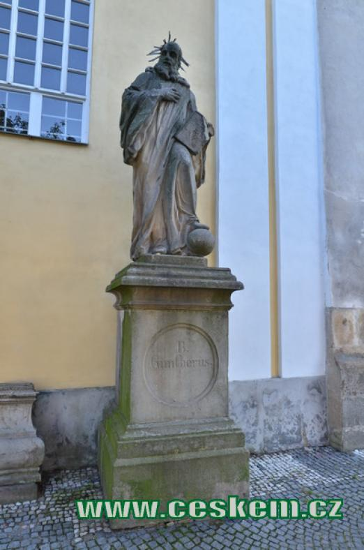 Socha sv. Vintíře.