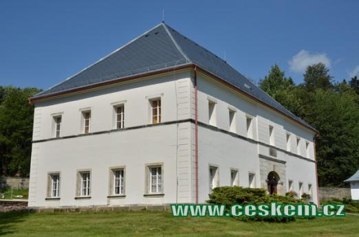Budova Nového zámku.