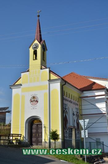 Kaple sv. Václava.