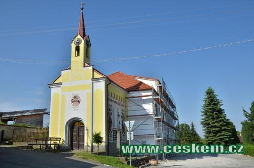 Kaple svatého Václava.