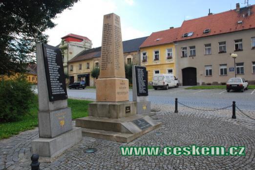Památník padlým světových válek.