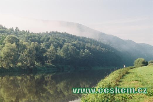 Řeka Berounka...