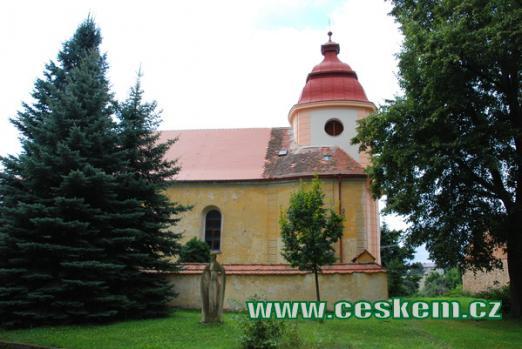 Barokní kostel sv. Mikuláše.