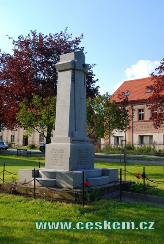 Památník padlých v 1. světové válce.